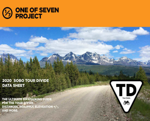 Tour Divide SOBO Data Sheet Cover