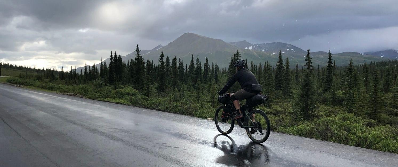 Parks Highway Alaska - bikepacking - Most Common Bikepacking Injuries