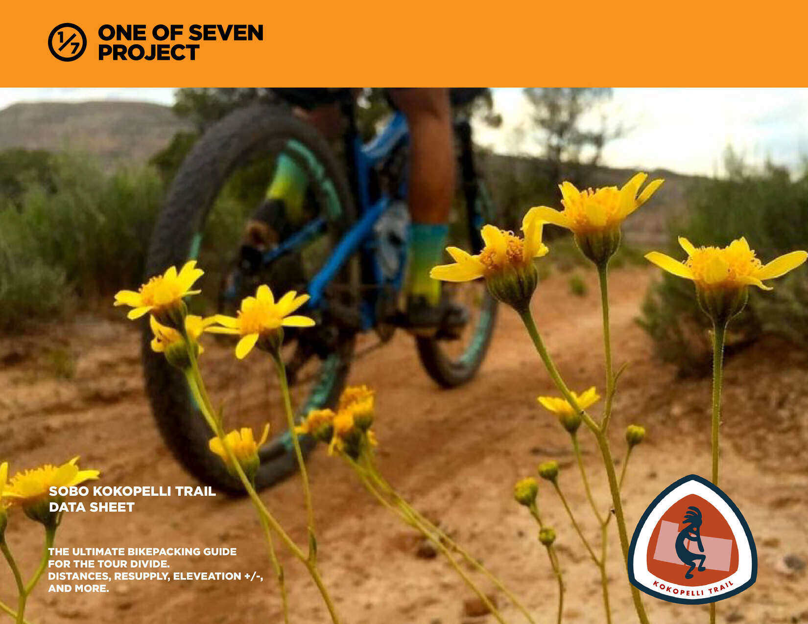 Kokopelli Trail SOBO Planning Aid Cover bikepacking guide