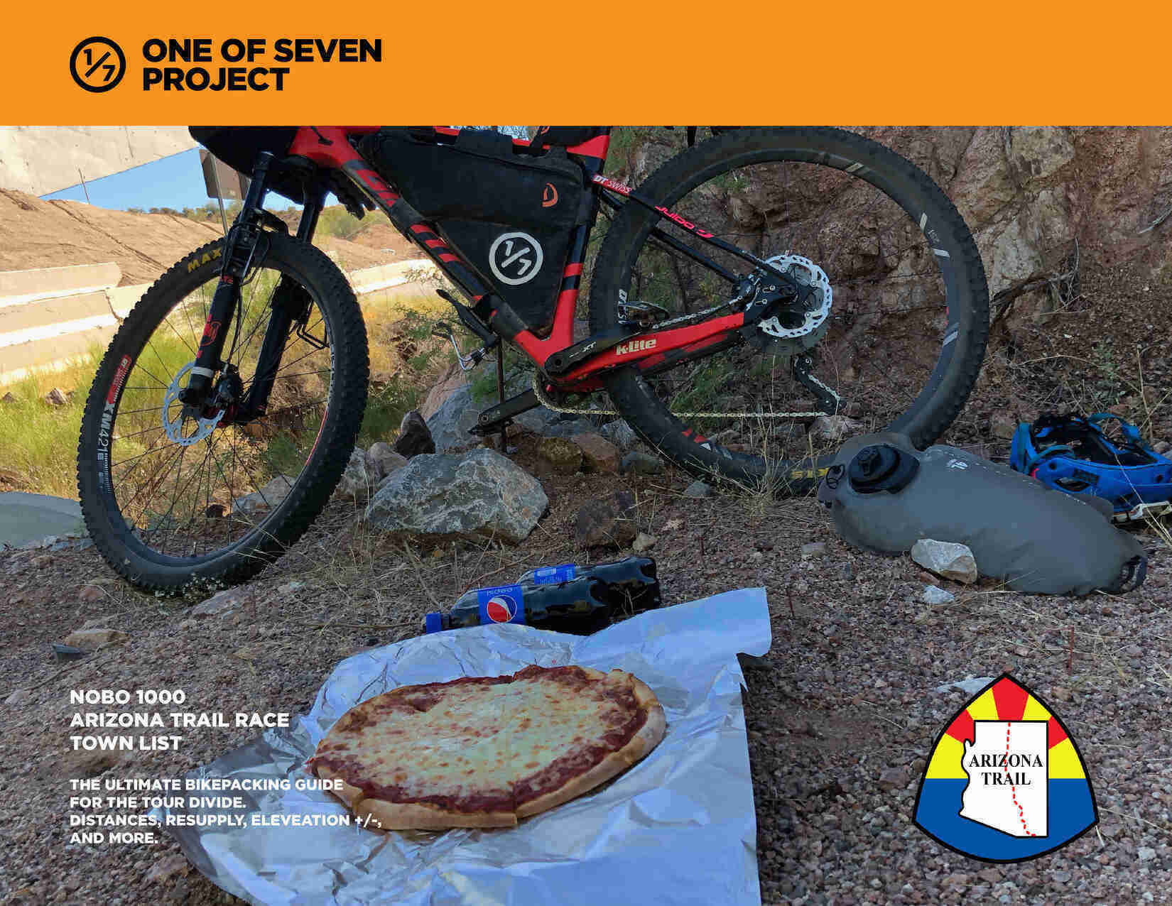 AZTR 1000 NOBO TOWN LIST Cover- Arizona Trail BIKEPACKING GUIDES PLANNING AIDS