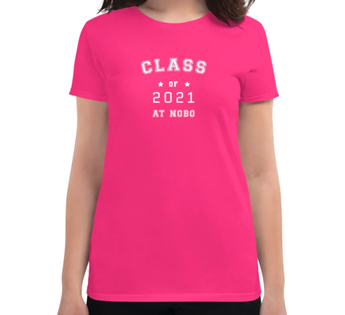 women's Class of Appalachian Trail SOBO T-shirt thru-hiking AT